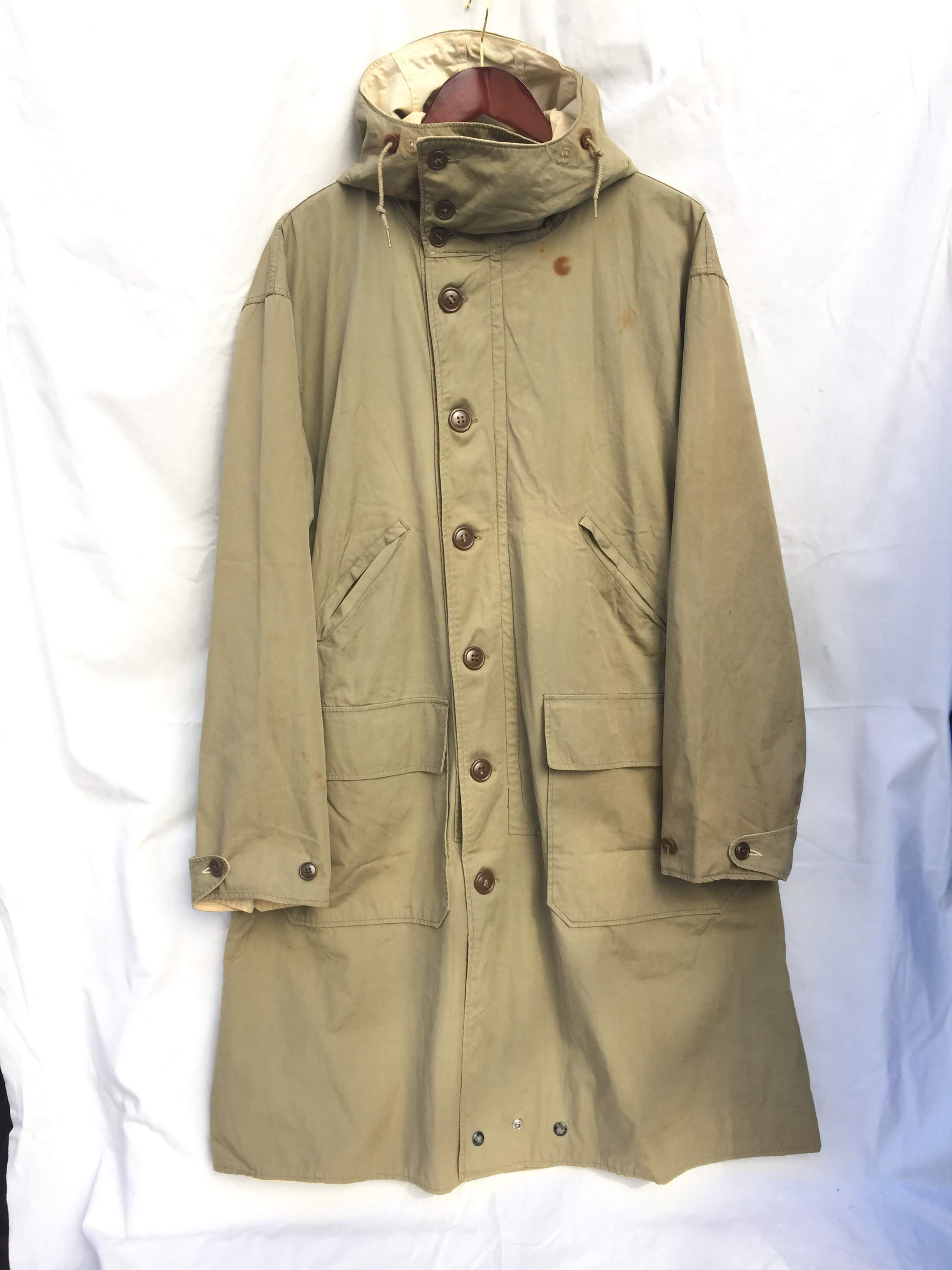 40's Vintage US Army Mountain Troops Reversible Parka